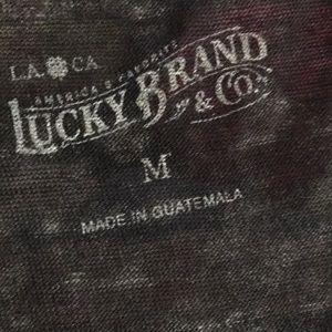 Lucky Brand Tops - NWT Lucky Brand burnout zodiac top - medium